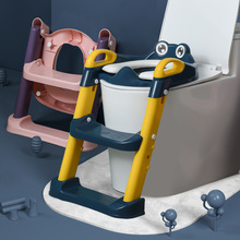 Folding Baby Boy Children's Pot Portable Children's Potty Urinal for Boys with Step Stool Ladder Baby Potty Toilet Training Seat