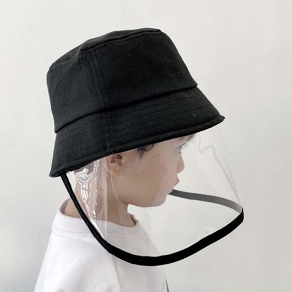 Kids Dust Cover Full Face Cap Multifunctional Hat Children Protect Mask Hat Droplets Spreading Prevent 1Pcs