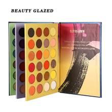 A beleza vitrificou a paleta da sombra dos olhos 60 / 72 cores bandeja da sombra brilho matte bom pigmento maquiagem sombra pallette em pó
