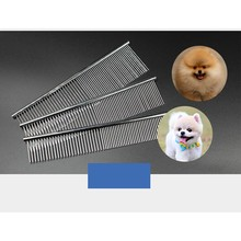 Stainless Steel Dog Comb High Quality Grooming Tools Dogs Cheap Brushes Pin Brush for Pet Products For