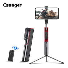 Essager Bluetooth Selfie Stick Tripod For iPhone Xiaomi Portable Self Selfiestick For Mobile Phone Android Mini Tripod Monopod
