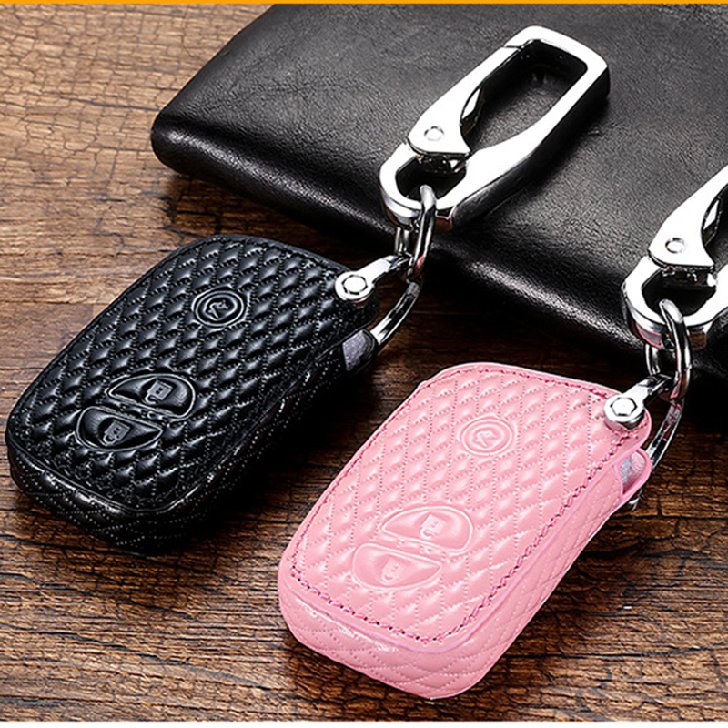 Leather <font><b>Key</b></font> Remote <font><b>Case</b></font> Cover for <font><b>Lexus</b></font> CT200H ES350 GX400 GS350 IS250 RC350 <font><b>RX300</b></font> LX570 NX300h 450 Protect Shell image