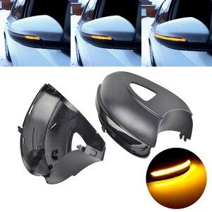 Для Volkswagen VW GOLF 6 VI MK6 GTI R line R20 Touran динамический мигалка светодиодный поворотник светильник зеркала индикатор последовательного