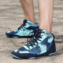 Аутентичная профессиональная обувь для бокса, обувь для борьбы для женщин и мужчин, тренировочная обувь, кожаные кроссовки Lucha Libre