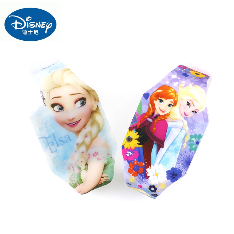 Frozen Watches Toys Anna Aisha Action Figures Anime Disney Movies Cartoon Wrist Luminous Watch Child Girls Birthday Gifts