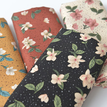 140x50cm Viscose Gardenia Fabric Floral Cotton Cloth, Diy Summer Clothes Clothing Pajamas Lining 4 color can be chiose
