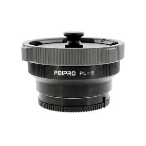 Image 4 - PEIPRO PL E adattatore per Lenti per PL Cinema Lens per SONY E Mount Fotocamera MF anello adattatore per A7R3 A7R4 A7R IV
