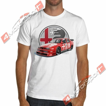 ¡Artículos raros! Camiseta de carreras Alfa ROMEO 155 V6 Ti 1993 DTM,...