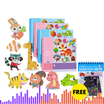 Kids cartoon color paper folding and cutting toys for children kingergarden art craft DIY educational toys, free shipping gift одежда для йоги art and craft s258
