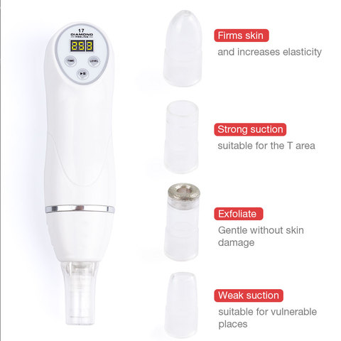 Facial Care Beauty Device Skin Diamond Dermabrasion Remove Blackheads Skin Peeling Machine Care Massage Microdermabrasion Islamabad