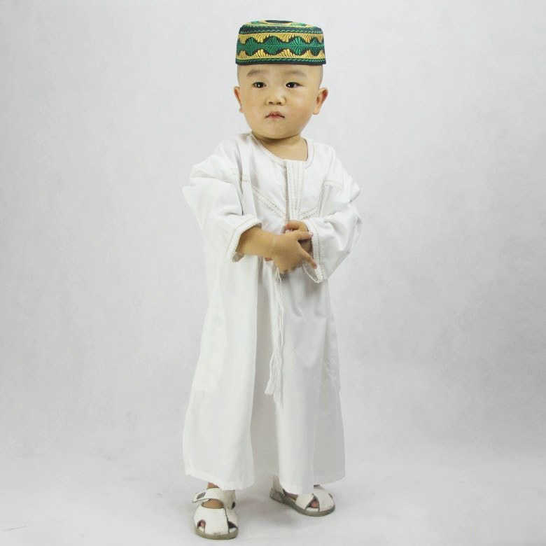 Children Arabic Islamic Clothing Jubba Baby Boy Muslim Dress Saudi Arabia Thobe Robes Kids Musulman Islam Outfit Galabia Costume