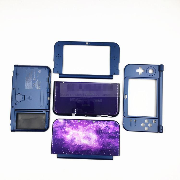 Brand New Upper and Down Shell <font><b>Cover</b></font> WIth Inner <font><b>Battery</b></font> Case For New <font><b>3DS</b></font> XL Housing Case image