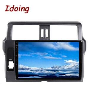 """Image 4 - Idoing 10.2 """"2.5D 4G + 64G Android araç radyo multimedya GPS oynatıcı Toyota LAND CRUISER PRADO için 150 2013 2017 DSP hiçbir 2DIN DVD"""