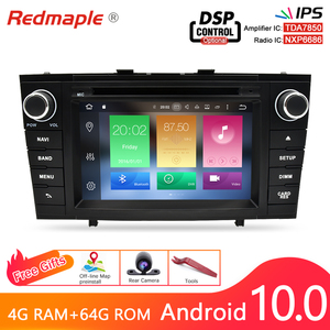 Image 1 - Octa Core Android10.0 Car Radio GPS Navigation Multimedia DVD Player For Toyota Avensis T27 2009 2015 WIFI Stereo 4G RAM 64G ROM