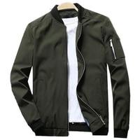 VogueJacket Men Spring Autumn O Neck Windbreaker Jackets Mens Streetwear Hip Pop Baseball Bomber Jacket Plus 6XL