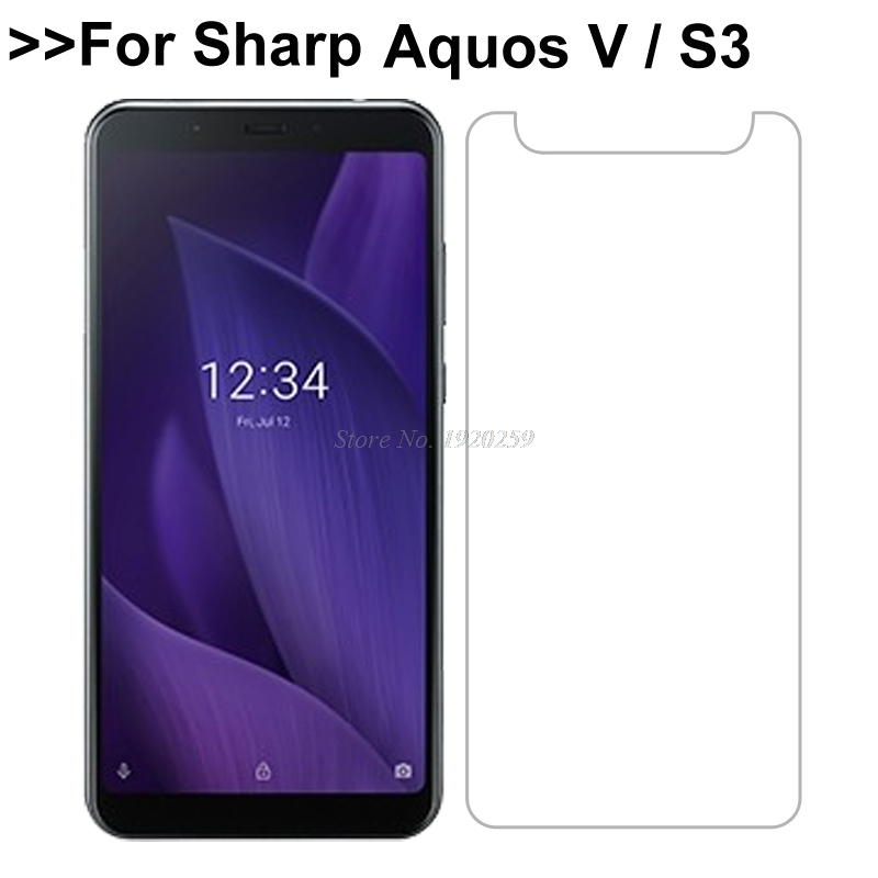 For Sharp Aquos S3 S 3 Tempered Glass 9H High Quality Protective Film Explosion-proof Screen Protector For Sharp Aquos V SH-C02