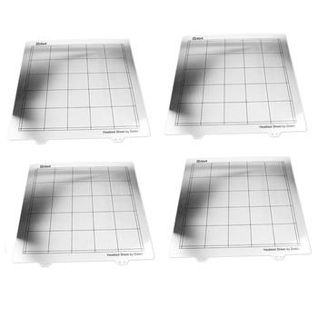 Dotbit 4-In-1 Ultra Base 3D Printer Platforms, Heatbed Build Surface for Prusa I3-300X300Mm/11.8X11.8Inch