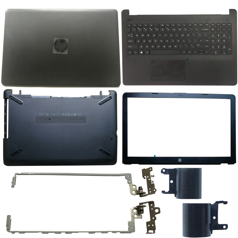 New HP 15-AC 15-AF 250 G4 255 G4 laptop Top Lcd back cover case+hinges