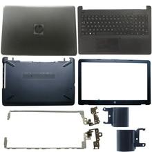NEW Laptop LCD Back Cover/Front bezel/LCD Hinges/Palmrest/Bottom Case For HP 15-BS 15T-BS 15-BW 15Z-BW 250 G6 255 G6 924899-001 new laptop lcd back cover for hp 15 bs 15t bs 15 bw 15z bw 250 g6 255 g6 black screen back cover top case 924899 001