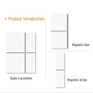 Image 5 - チュウヤスマート無線 Lan ドアセンサー 433mhz ワイヤレスアプリ制御ドア窓セキュリティ警報オープニングドアセンサー互換 Alexa/ IFTTT