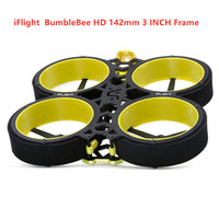 iFlight BumbleBee HD 3 inch 142mm FPV CineWhoop frame with 2mm arm/propeller compatible 3 inch propeller FPV Racing drone