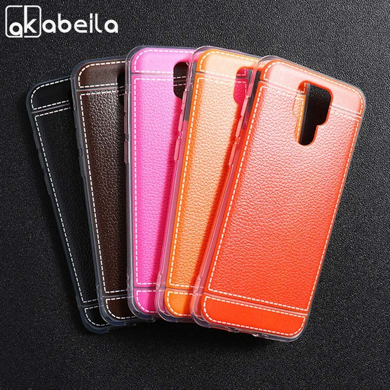 Soft TPU Leather Case For Ulefone Power 6 Cases Silicone Cover For Ulefone Power6 Protective Housing Back Shell Bumper Bags