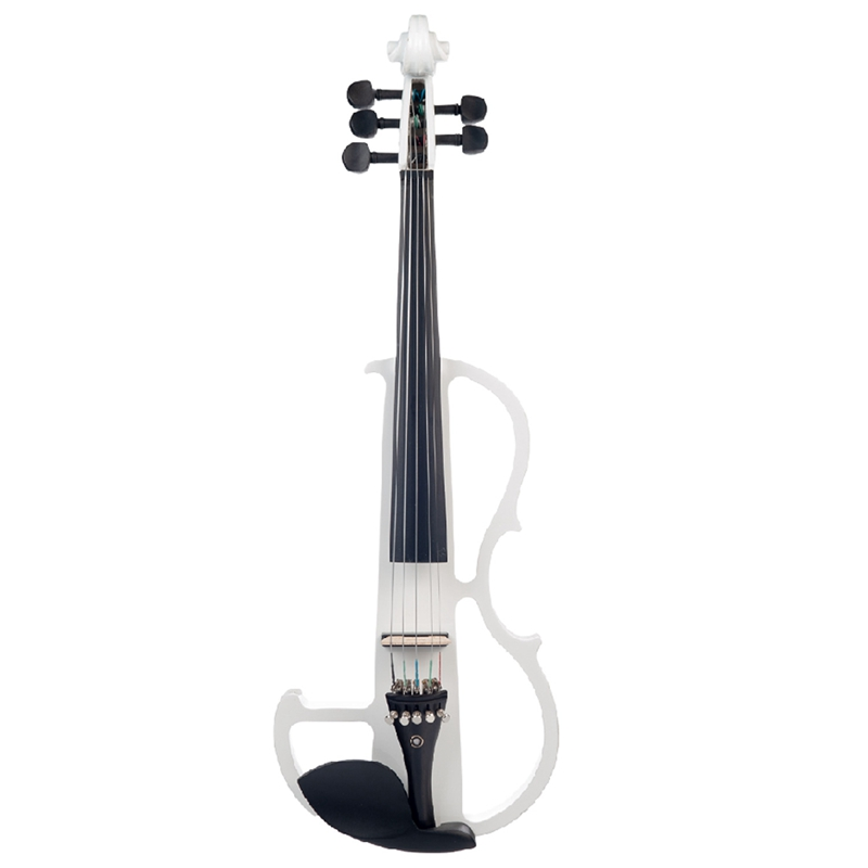 NAOMI 4/4 Full Size Electric Violin Fiddle 5 String Silent Violin Accessories High Quality New
