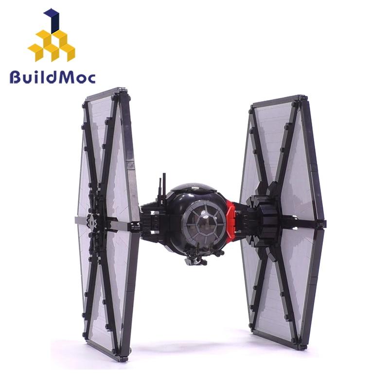 Construcdmoc 10900 Star Wars impérial TIE Fighter blocs de construction artisanat d'attaque emblématique Compatible avec les jouets Lepining pour les enfants