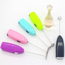 100pcs Kitchen Egg Beater Coffee Milk Drink Electric Whisk Mixer Frother Foamer Electric Mini Handle Mixer Stirrer Kitchen Tools