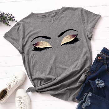 90s Aesthetic Tshirt Rose Gold Eyelashes Graphic Vogue T Shirt Camiseta Maquillaje Kawaii Princess Art graphic T-shirt Camisas perfume bottle watercolor hand t shirt women harajuku anime t shirt 90s korean style tshirt graphic aesthetic top camiseta mujer
