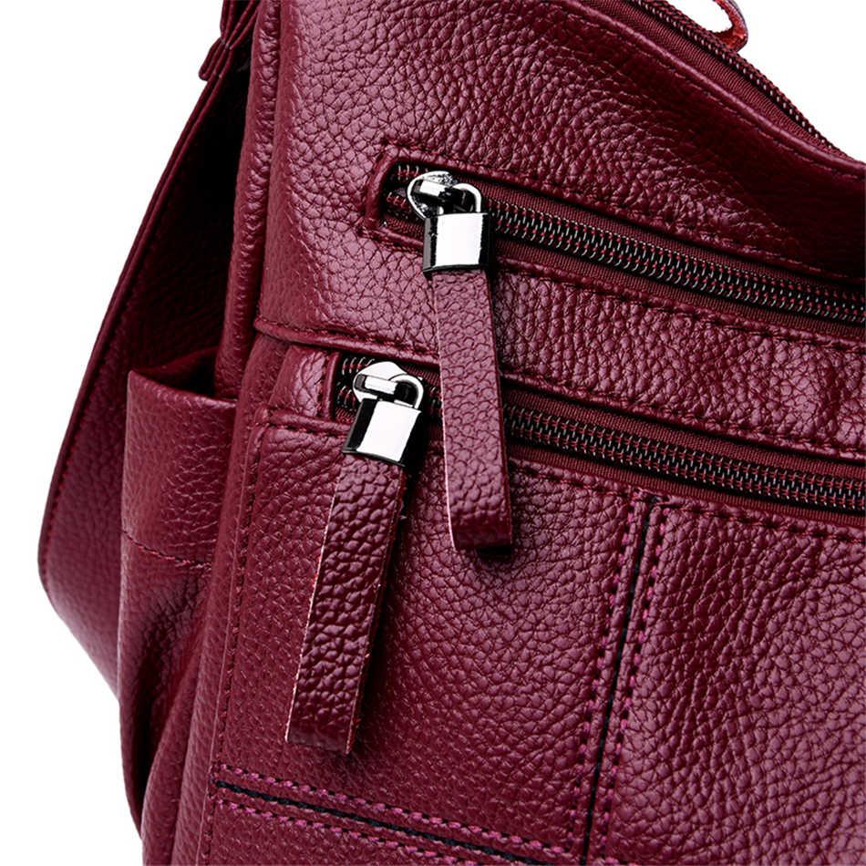 VANDERWAH Sac a main Femme Classic Soft Leather Crossbody Bags For Women 2019 Luxury handbags women bags designer Bolsa Feminina