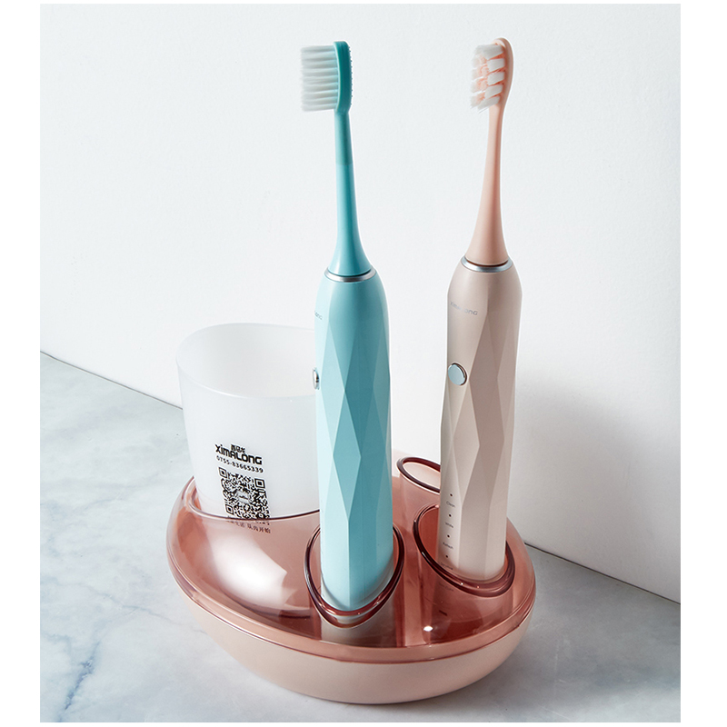 Image 2 - Electric Toothbrush Holder Cat Claw Design Toothpaste Holder Storage Organizer Box ABS/Pvc/Plastic Dispenser ShelfElectric Toothbrushes   -