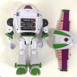 Image 4 - New Toy Story Buzz Lightyear 4 Pode Andar Brilhando Inglês Canções Action Figure Modelo Coleção Crianças Presentes