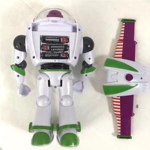 Image 4 - Nowy Toy Story 4 Buzz astral może chodzić świecące angielskie piosenki działania model figurki dzieci prezenty kolekcja