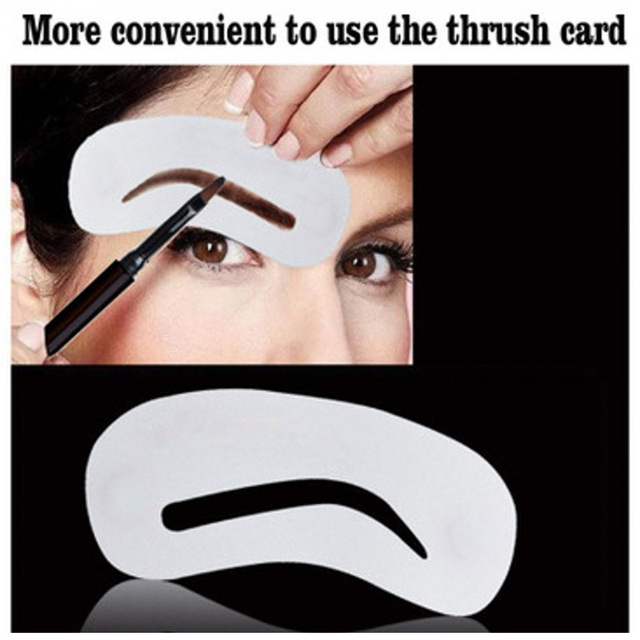 3 Pcs Eyebrow Shaping Stencils Grooming Kit Eyebrow Shaper Set Eye Brow Template Mold Cosmetic Makeup Tools 1