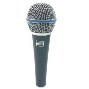 Image 2 - באיכות גבוהה גרסת Beta 58a ווקאלי קריוקי כף יד דינמי Wired מיקרופון BETA58 Microfone מייק Beta 58 A Mi