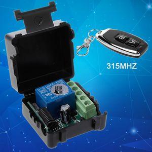 Image 3 - 2019 새로운 원격 제어 무선 스위치 12 v 315 mhz 1ch 릴레이 수신기 모듈 rf 송신기 지능형 전자