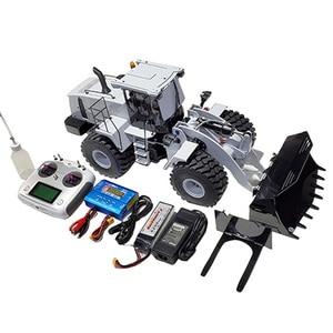 1/14 RC гидравлическая модель колесного погрузчика WA 470 гидравлический бульдозер Инженерная модель колесного погрузчика подарок на день рожд...