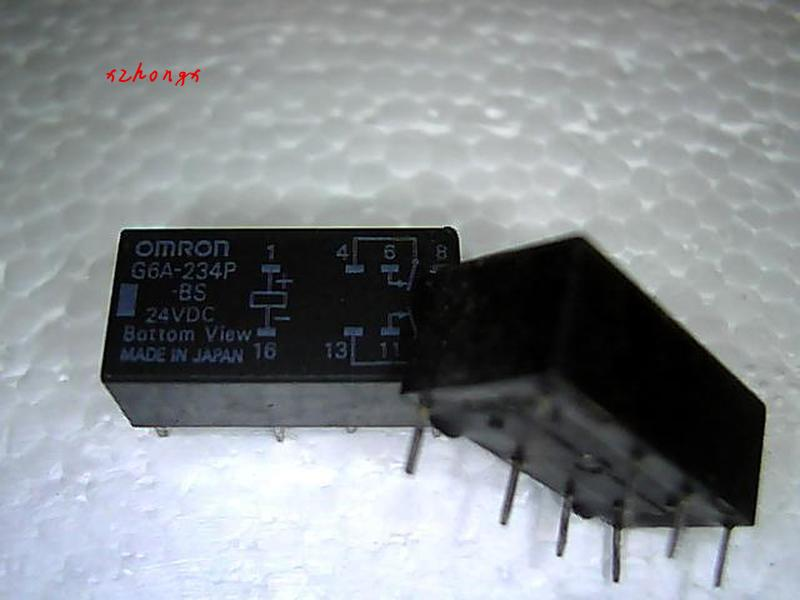 G6A-234P-BS 12VDC 8 Foot Relay