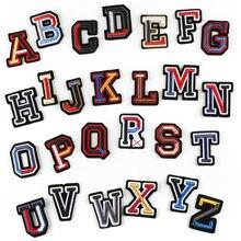 26 букв английского алфавита комбинации с трехмерной аппликацией в виде патч Эмблемы гладильная патч High-End Аксессуары к одежде с помощью утю...