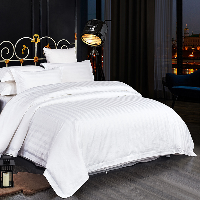 100% Cotton Bedding Set Queen/King Size White Embroidered Duvet Cover Sets Hotel Bed Linen Set Bedding Pillowcase