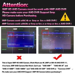 Image 5 - AI كشف الوجه H.265 5MP 4MP كاميرا AHD الأمن المراقبة بالفيديو 6 * صفيف في الهواء الطلق كاميرا مانعة لتسرب الماء لنظام AHD DVR