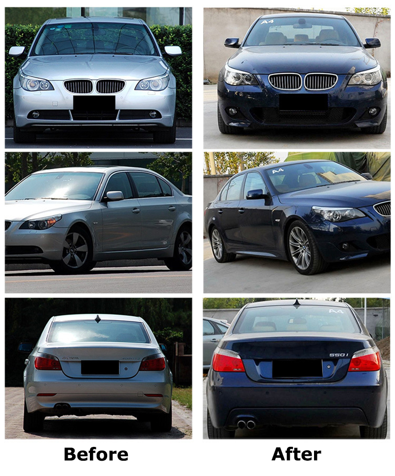 2008 Bmw 535i Body Kit : Modify, Unpainted, Front, Bumper, Skirts, Series, 11|Bumpers|, AliExpress