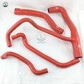 Silikon Kühler Kühlmittel Heizung Schlauch FÜR Alfa Romeo 156 2 5 (4 stücke) ROT/BLAU/SCHWARZ