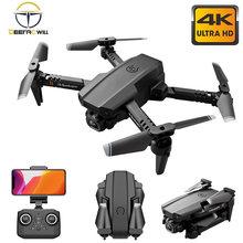 2021 hatosteped xt6 mini zangão 4k hd câmera dupla wifi fpv pressão de ar altitude hold dobrável quadcopter rc helicóptero criança