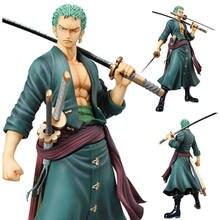 Anime jeden kawałek 18 Cm postać z kreskówki Rono Zorro trzy nóż Sa pcv akcja zestaw lalek zabawki modele Anime rysunek