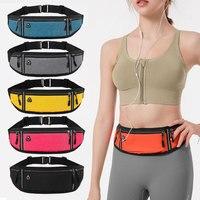 2021 neue Laufsport Tasche Männer Frauen Outdoor Jogging Taille Tasche Tasche Wasserdicht Radfahren Gym Handy Gürtel Packung Beutel