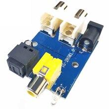 Taidacent CS8416 CS434 24 Bit 192KHz Coaxial Optical Fiber DAC Decoder Board Module RCA Interface 5-12V Digital Optical Decoder