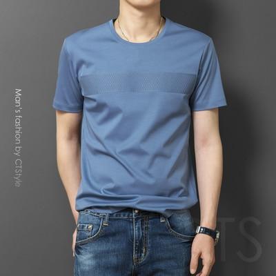 New Summer Short-sleeved T-shirt Men's Trendy Men's Clothing On The Wild  8555
