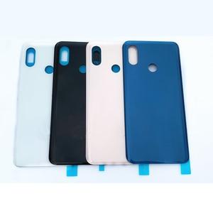 Original Xiaomi mi 8 mi8 Back Glass Battery Cover Rear Door Housing Case Cover mi 8 Panel Replacement For xiaomi mi 8 With Logo